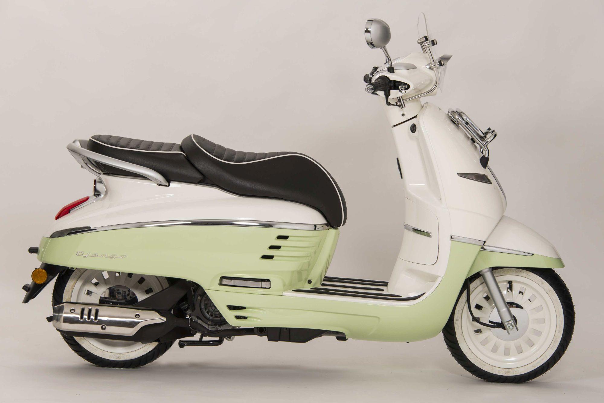 peugeot django 150 evasion - alle technischen daten zum modell