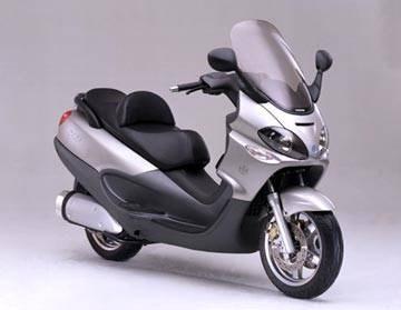 PIAGGIO X9-500 ist Scooter des Jahres