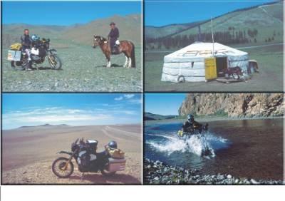 Auf 2 Rädern durch die Mongolei - Diavortrag
