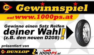 Dunlop & 1000PS.at Gewinnspiel!