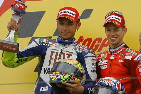 Rossi sieht Chancen gegen Stoner: Bis zum letzten Rennen