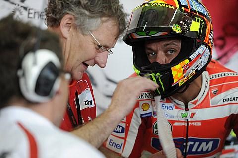 Blick auf Rennzeiten macht Rossi Sorgen: Wir werden nicht schneller