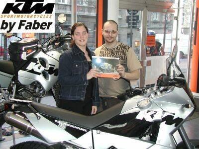 Eröffnung KTM-Shop im Hause Faber