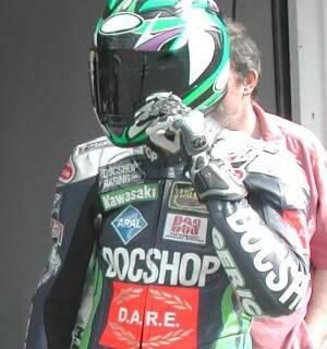 Martin Bauer trainiert am Hockenheimring