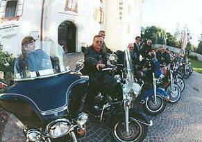 Harley Team - Die ersten Ausfahrten 2003
