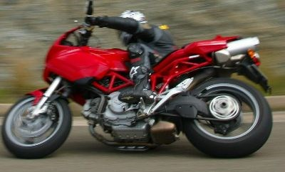 Bravo Maxa testet Ducati Multistrada