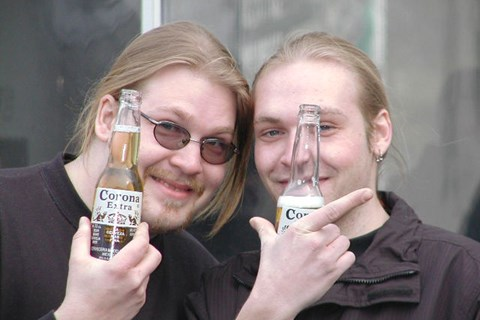 Bogy Party am 16.3.2002