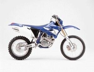 Aktion auf Yamaha WR 450 F ´2004