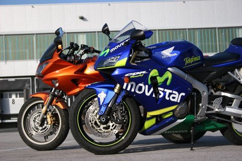 CBR600RR und CBF1000
