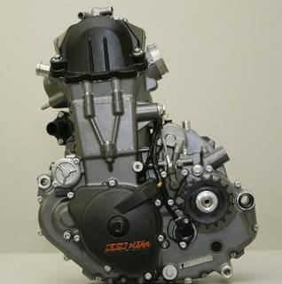 KTM 690 LC4 Motor