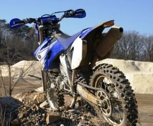 Yamaha WR Test