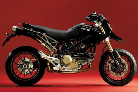 Hypermotard S in black