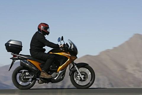 Honda Transalp Test