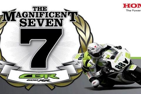 CBR 7.Supersport Sieg