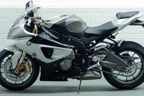 BMW S 1000 RR Start