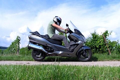 Honda SW-T400 Test