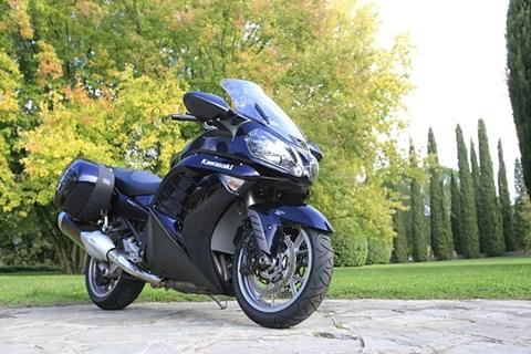 Kawasaki 1400 GTR Test