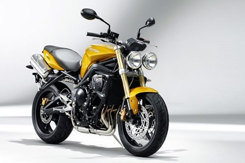 Street Triple Yellow