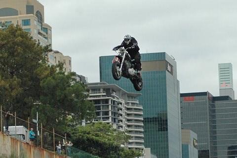Harley Rekordsprung