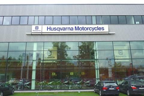 Husqvarna Werksbesuch