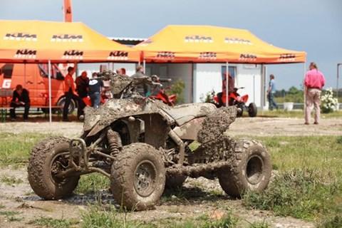 KTM ATV Testtag