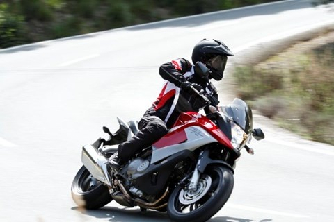 Honda Crossrunner Test