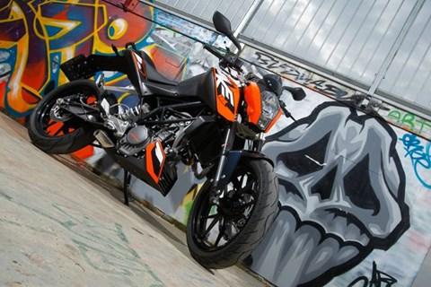 KTM Duke 125 Test