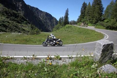Alpentouren und Testen