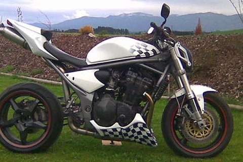 Suzuki Bandit Umbau