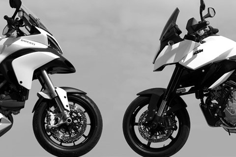 SM-T vs. Multistrada