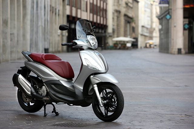 Piaggio Beverly 350ie Test