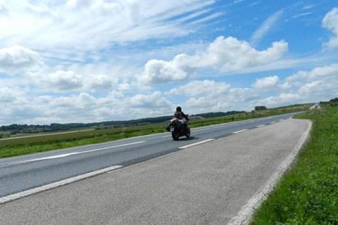 Naked-Bike Europareise