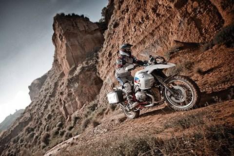 BMW R1200 GS testen