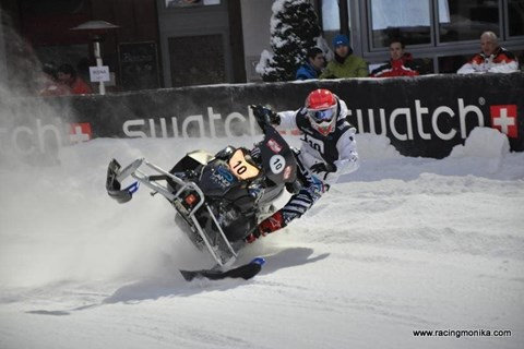 Snowmobile Saalbach
