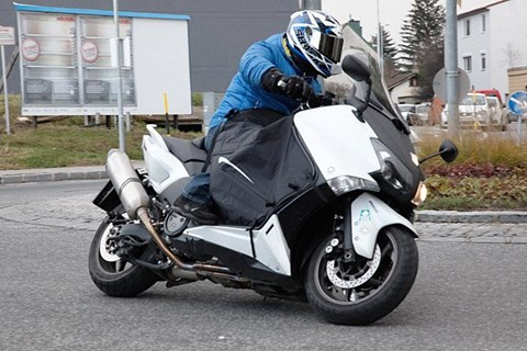 Yamaha T-Max Winter