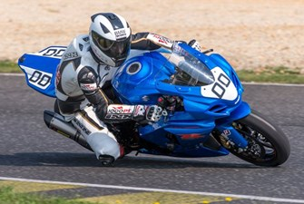 BMW Helmet Race