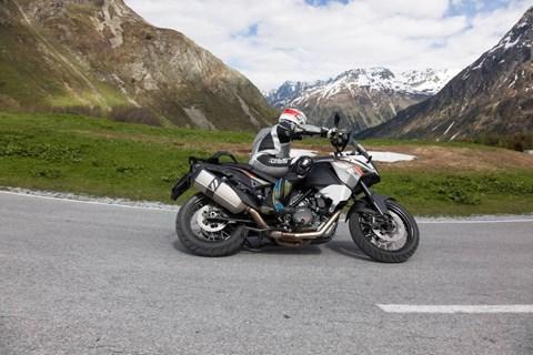 KTM Adventure am Berg!