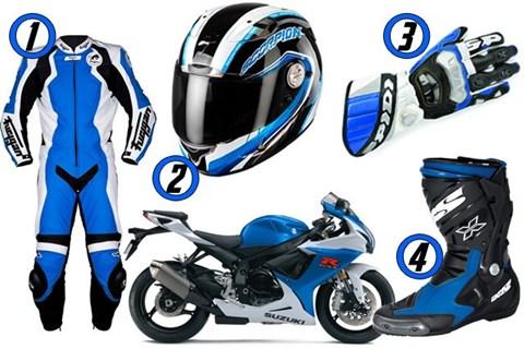 GSX-R Blue Collection