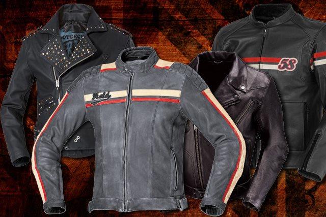 Retro Lederjacken Motorrad News