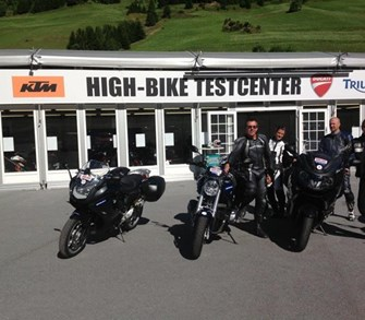 High Bike Testweekend
