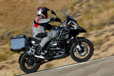 BMW GS Adventure 2014