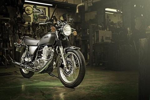 Yamaha SR 400 neu 2014