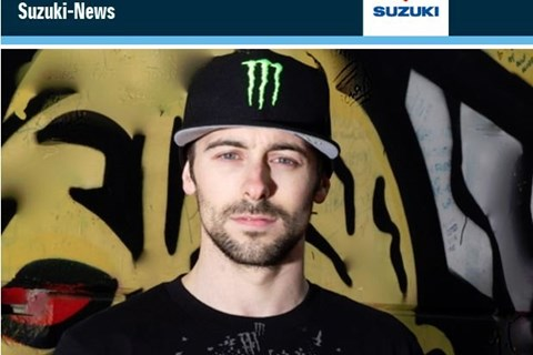 Laverty auf Suzuki