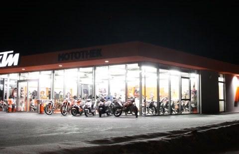 Motothek Eröffnung