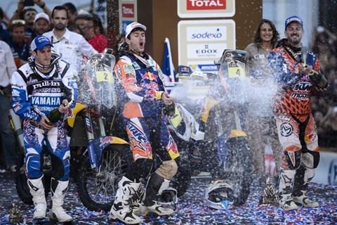 Coma Dakar Sieg 2014