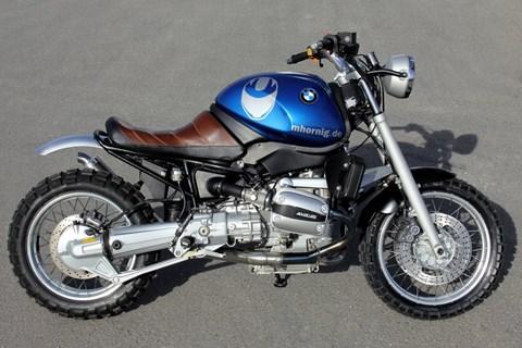BMW R1100R Umbau