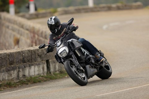 Ducati Diavel 14 Test