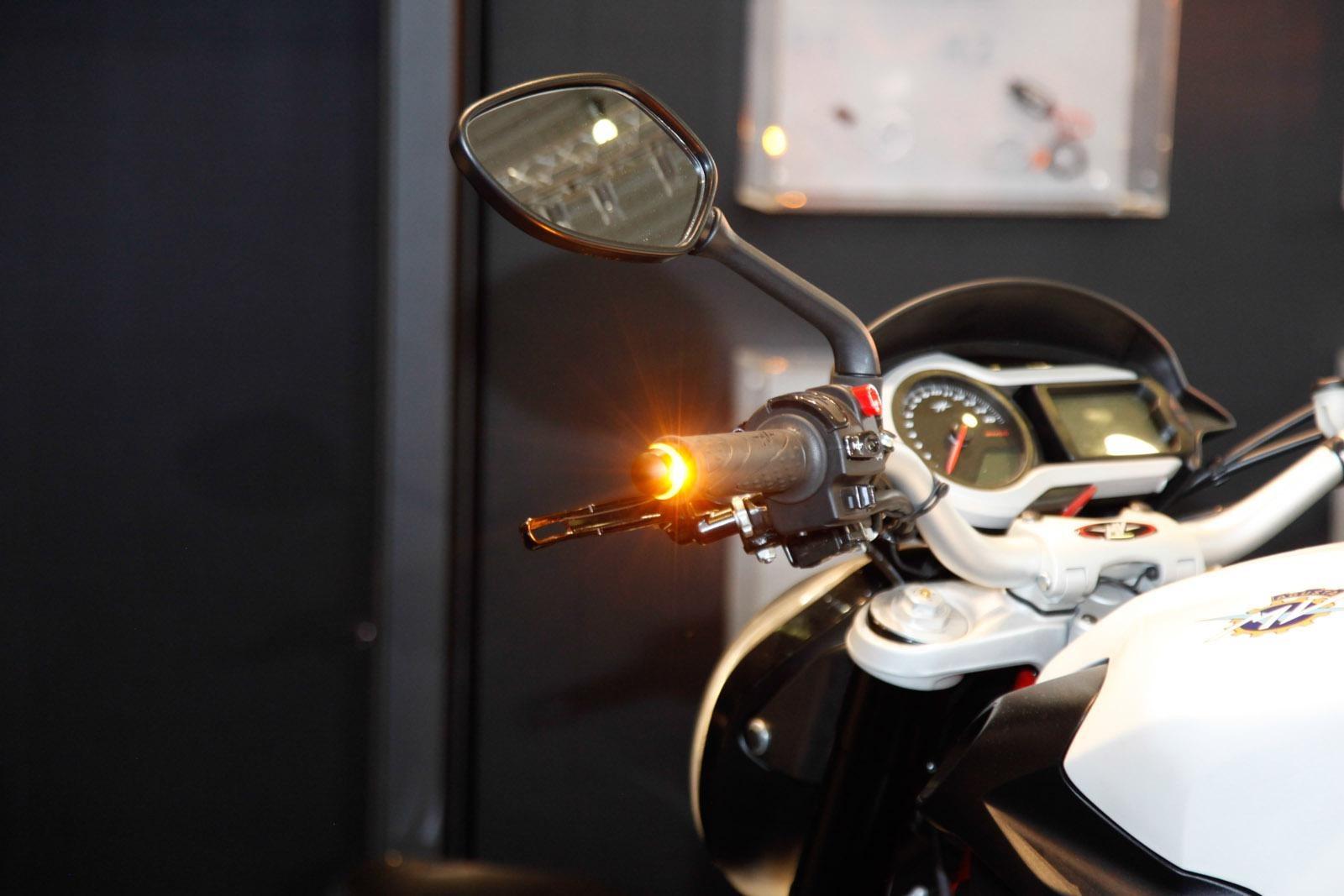 Lenkerblinker Motorrad Kellermann BL 2000 Dark mit getöntem Glas ECE-geprüft