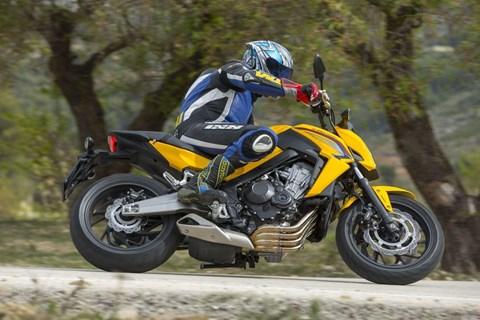 Honda CB650F Test