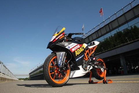KTM RC390 Cup